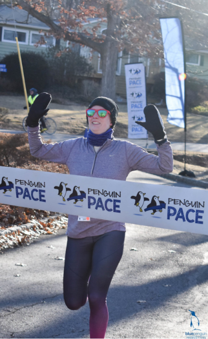 Penguin Pace Finish